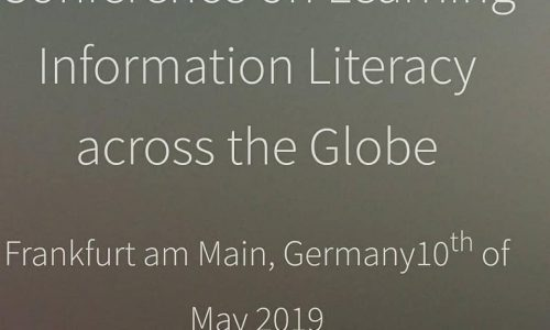 OPENEDU: #LILG_2019 #ILOoer Learning Information Literacy across the Globe #10May 2019 @Frankfurt #crowdsearcher