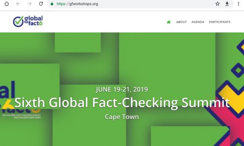 OPENEDU: #GLOBALfact6 BRINGING THE FACT-CHECKERS OF THE WORLD TOGETHER #19JUNE ~ #21JUNE 2019