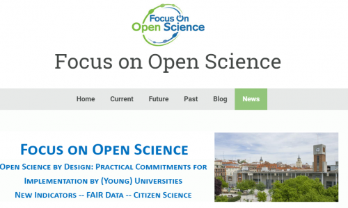 OPENEDU: Focus on #OpenScience Madrid july 8th, 2019  #FAIRData  #CitizenScience #YERUN @YERUN_EU