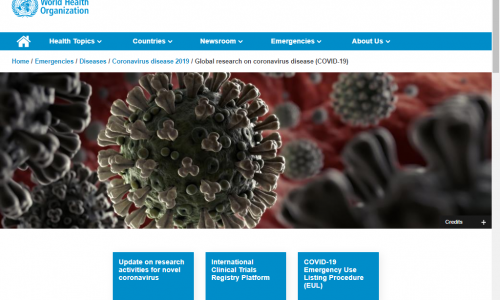 Directory #Covid19 #CoronaVirus #Crowdsearcher: @WHO World Health Organization