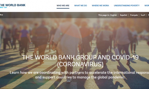 #DirectoryCovid19: WORLD BANK