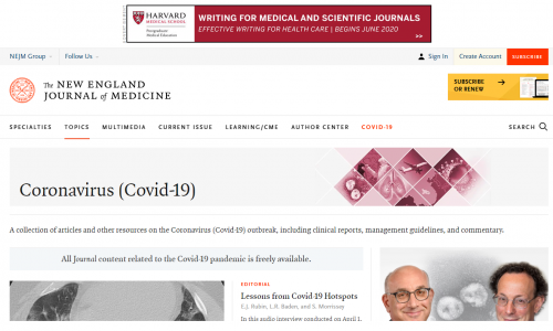 #DirectoryCovid19: New England Journal of Medicine